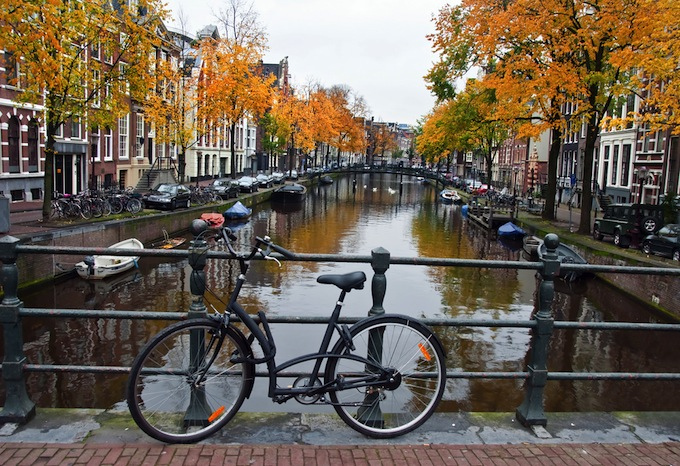 Discovering Amsterdam by Bike and Boat I.